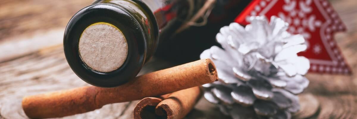 Wein als Weihnachtsgeschenk