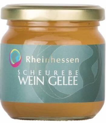 Scheurebe-Wein-Gelee