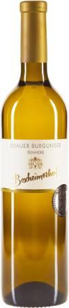 2017 Grauer Burgunder feinherb