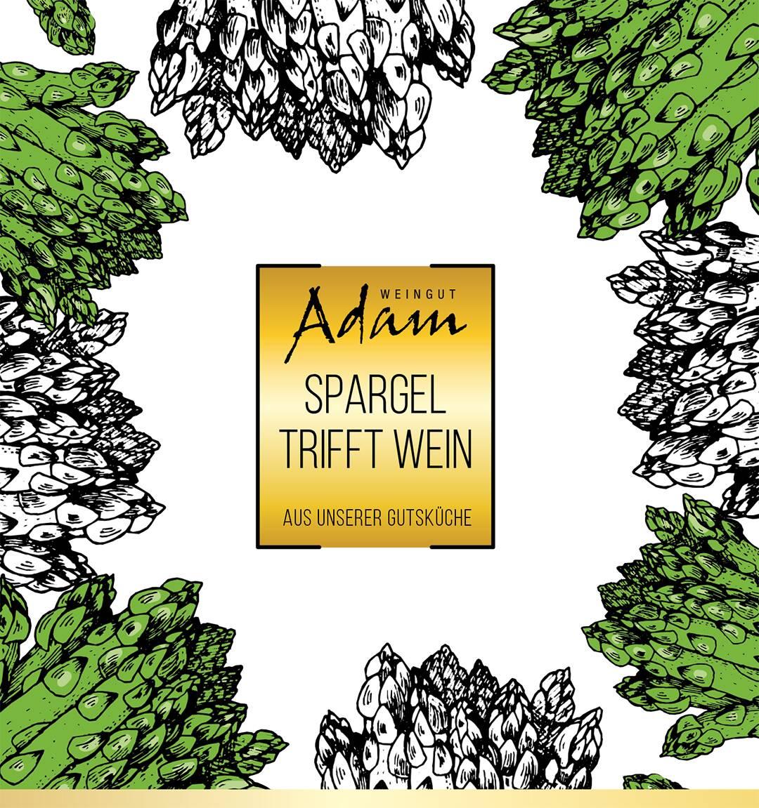 Spargel triff Wein