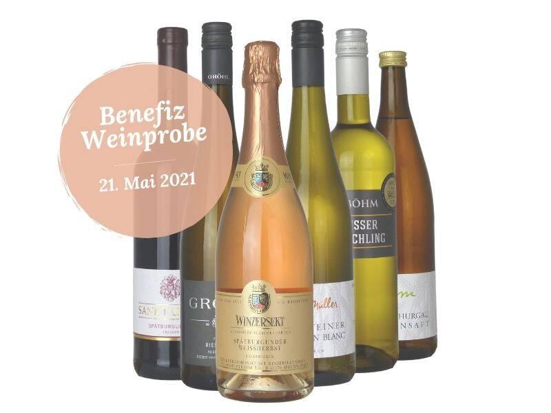 Benefiz-Weinprobe der Weinmajestäten