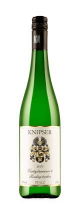 2020er Gewürztraminer & Riesling Weingut Knipser
